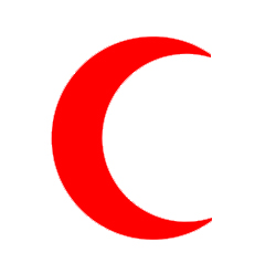 the red crescent - Health and Medicine Symbols