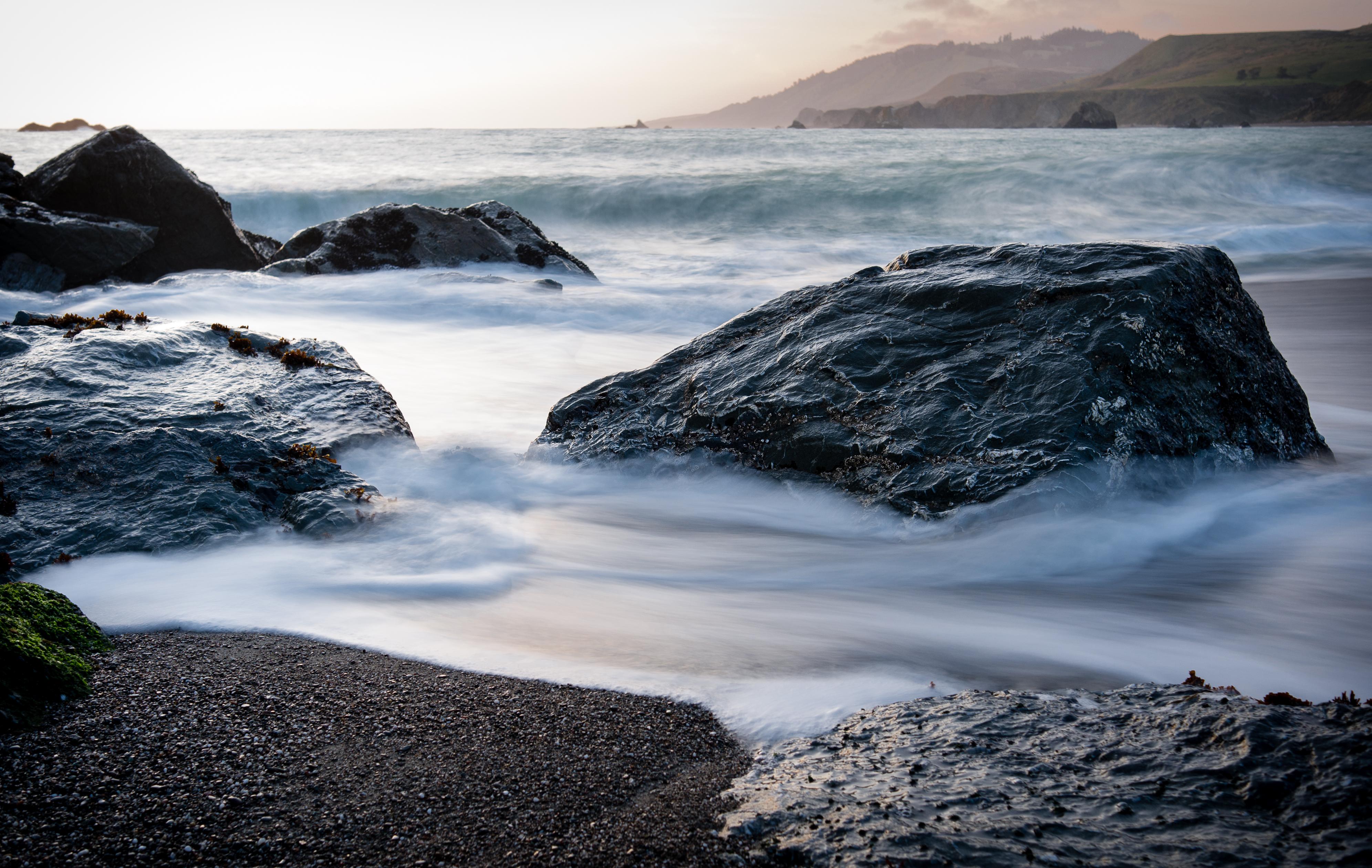 File:Rocks and surf on Goat Rock Beach.jpg - Wikimedia Commons