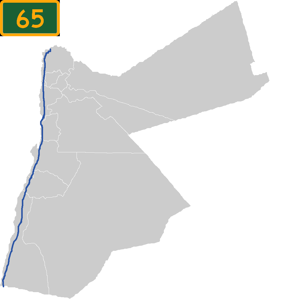 Highway Jordan Wikipedia - Jordan map quiz