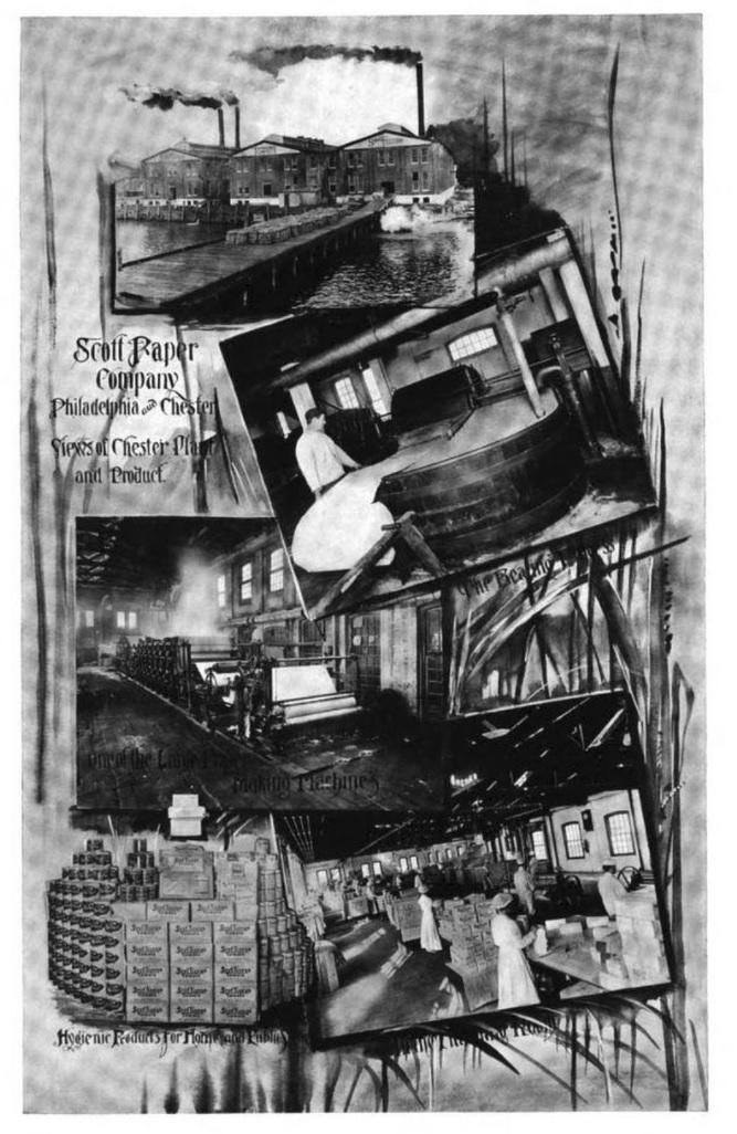 Scott Paper Company Plant in [[Chester, Pennsylvania
