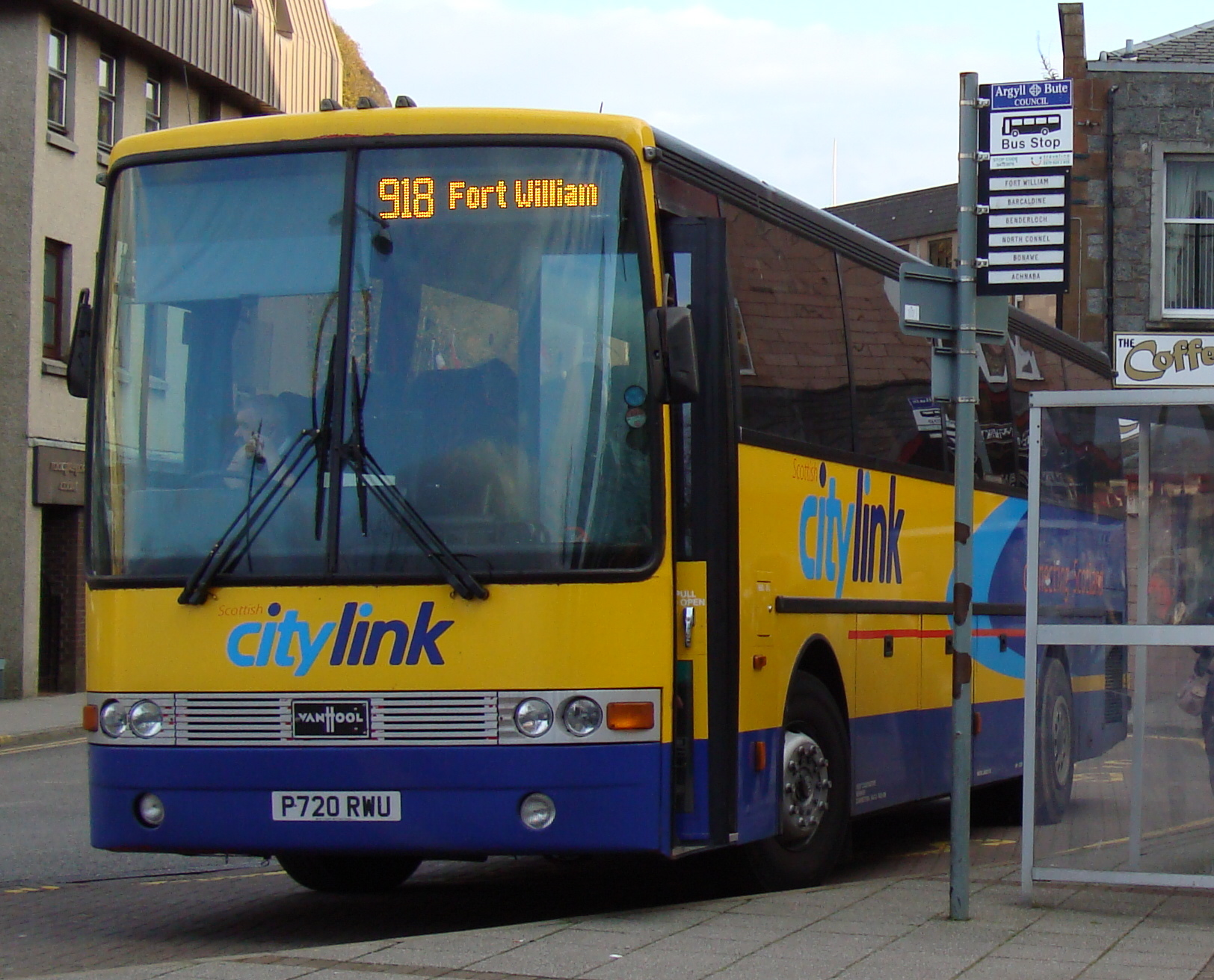 File Scottish Citylink Coach P720 Rwu 1996 Daf Sb3000