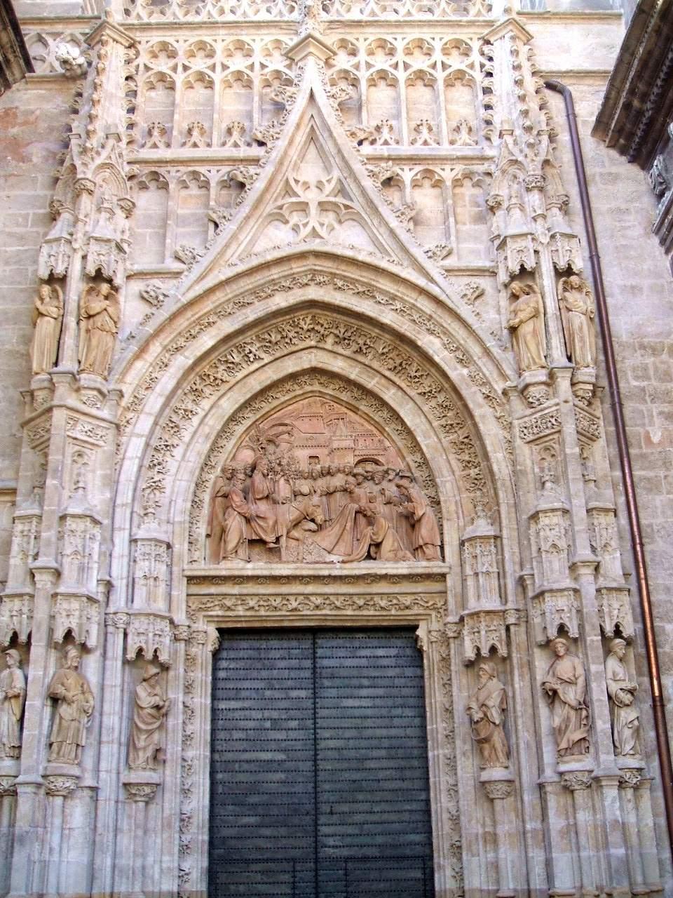 File sevilla catedral puerta de la - Puertas uniarte sevilla ...