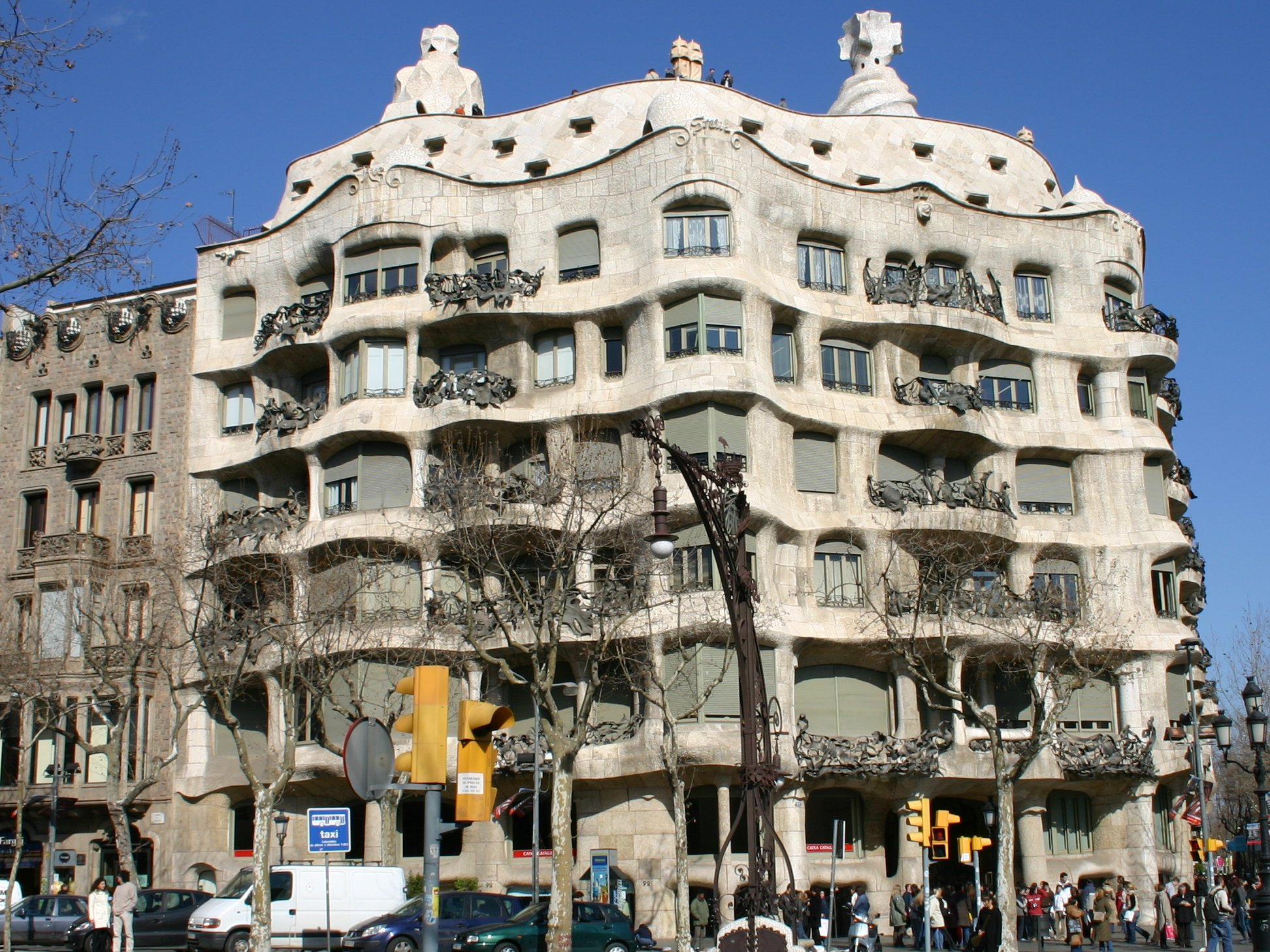 File Spain Barcelona Casa Mila Jpg