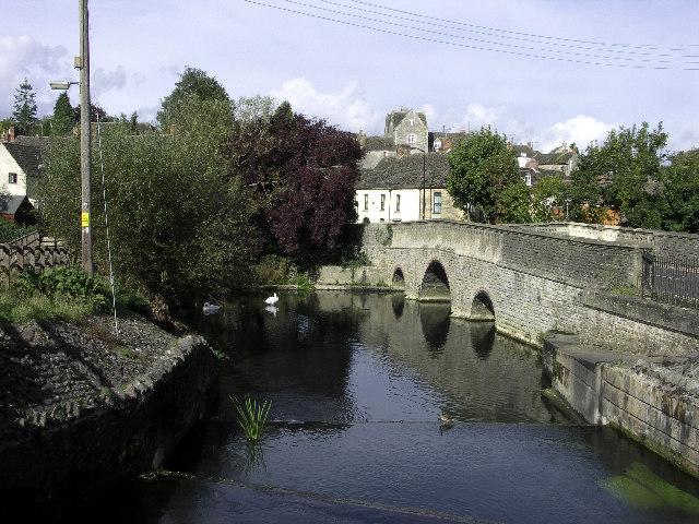 St John's Bridge over River Avon (Sherston branch) at Malmesbury - geograph.org.uk - 64485