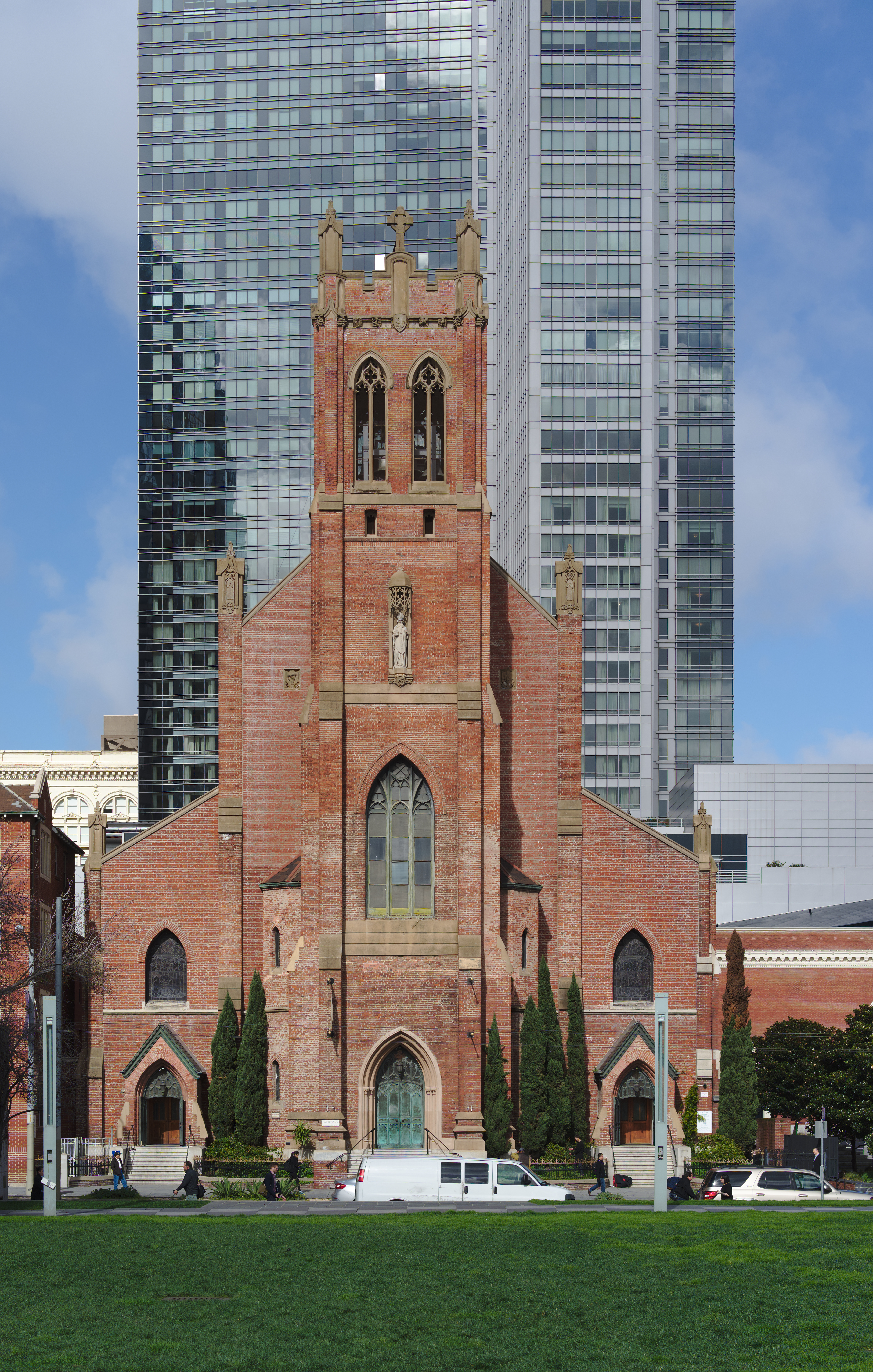 St Patrick S Catholic Church San Francisco Wikipedia