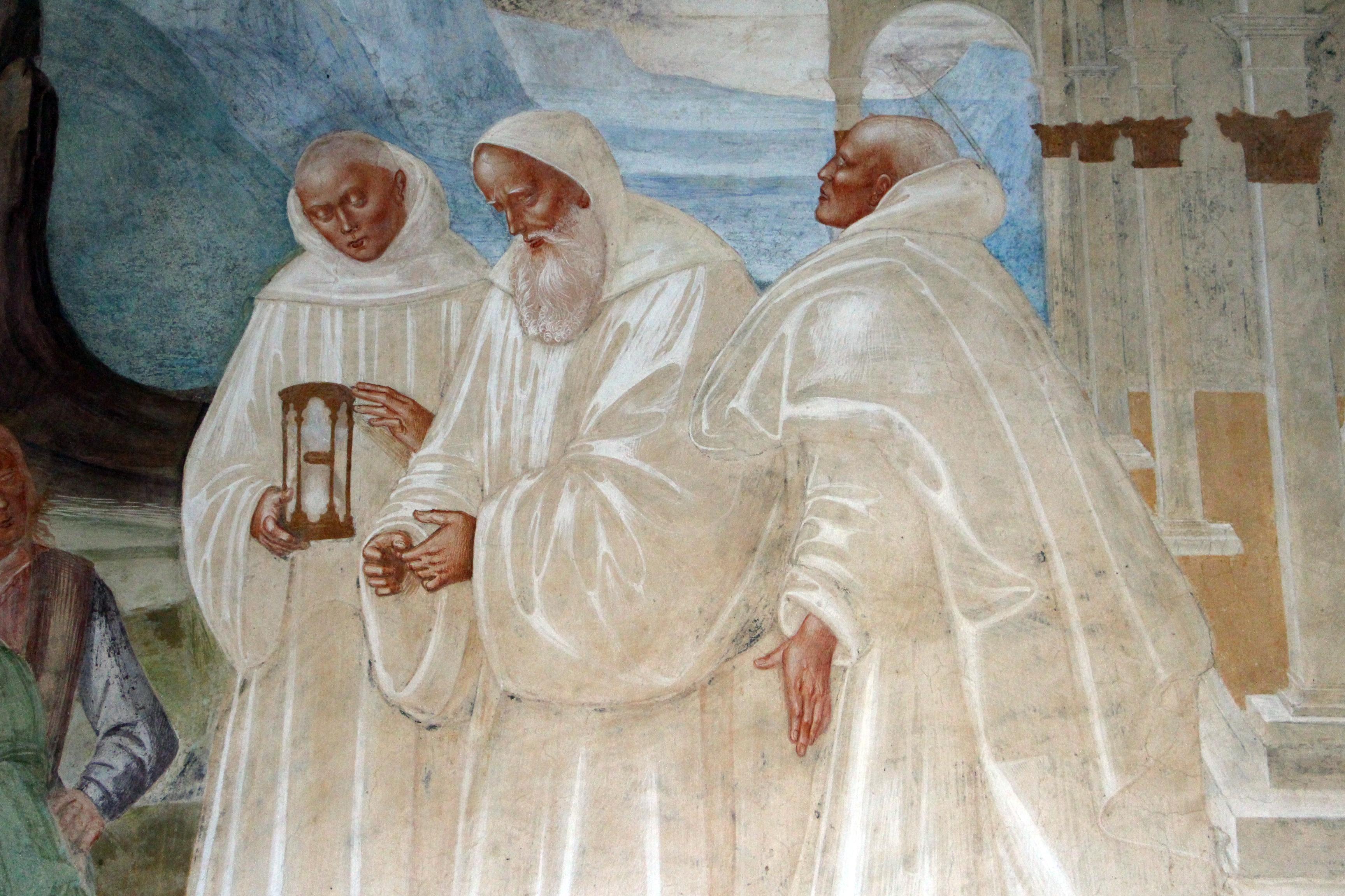Di Chiostro Nel SignorelliCiclo Luca Affreschi Grande Dell'abbazia ChQrdxtsB