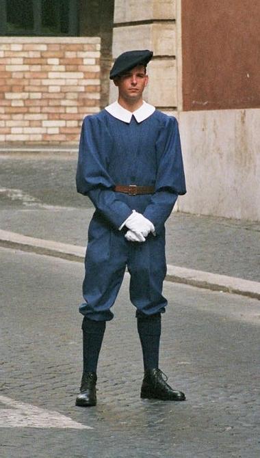 Uniforma Garda Elvetiana