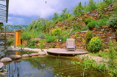 Naturgarten verein wikipedia - Kleiner garten mit teich ...