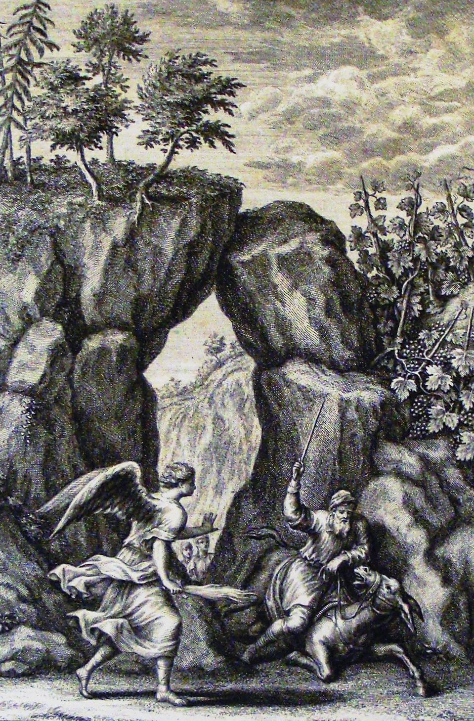File:The Phillip Medhurst Picture Torah 577  Balaam smites