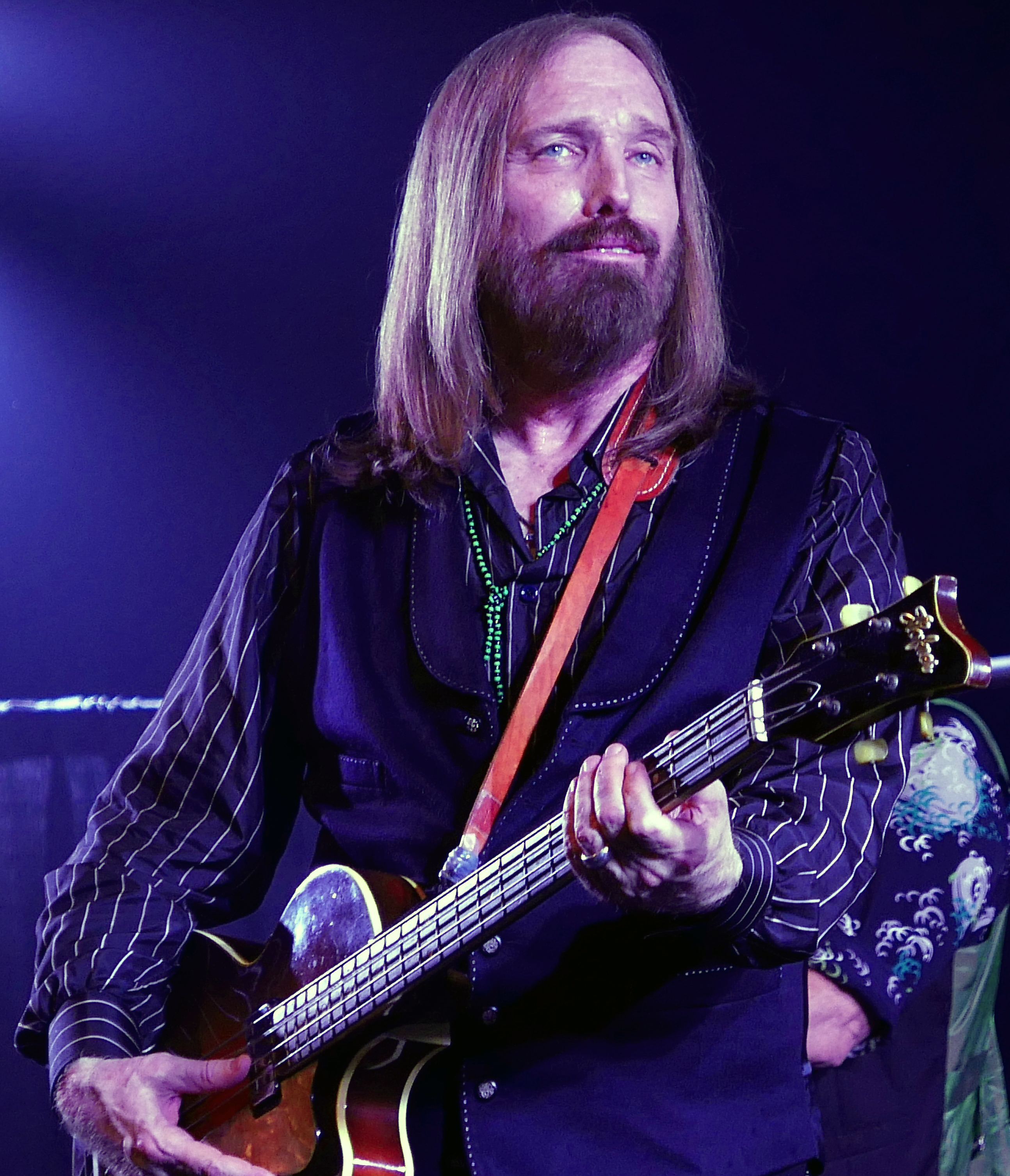 Tom Petty en concierto en 2016