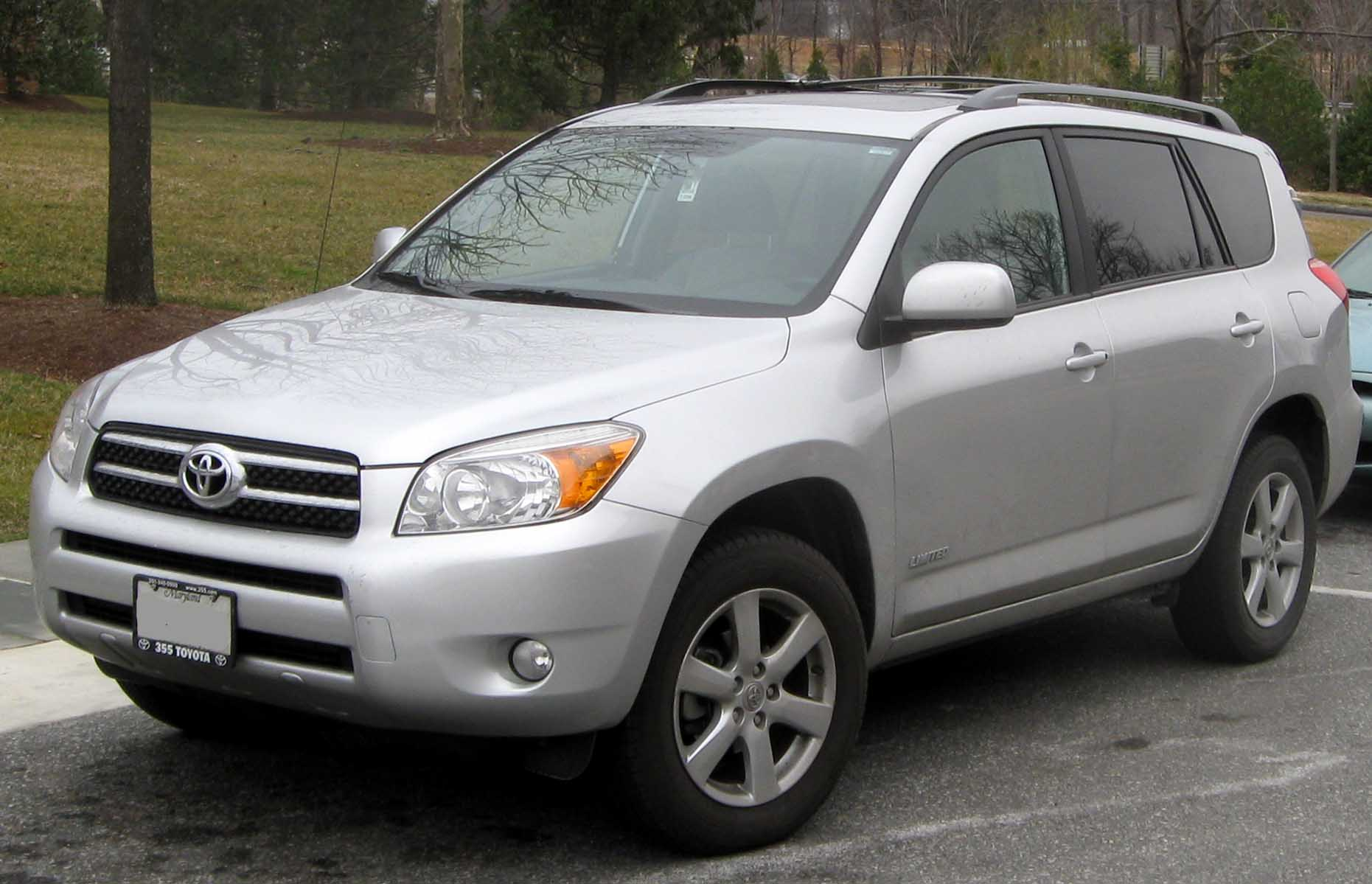 2006–2008 Toyota RAV4 Limited (US)