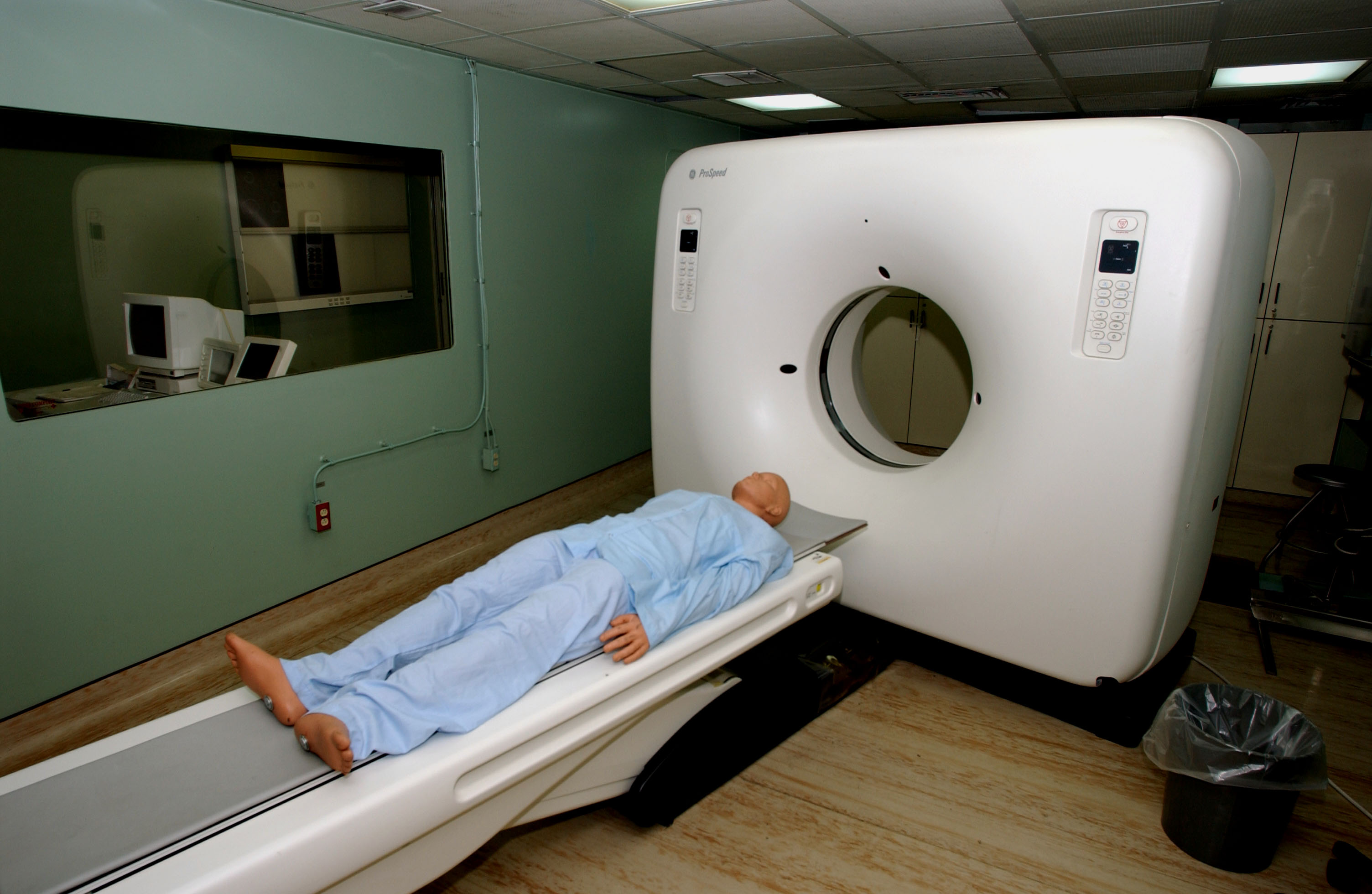 What does an mri machine look like