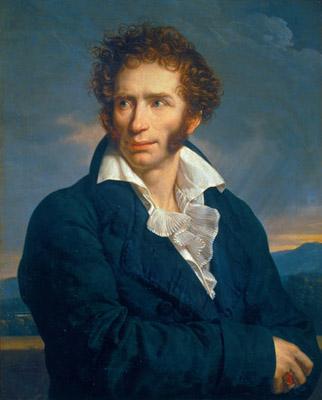 Ritratto di Ugo Foscolo, 1813