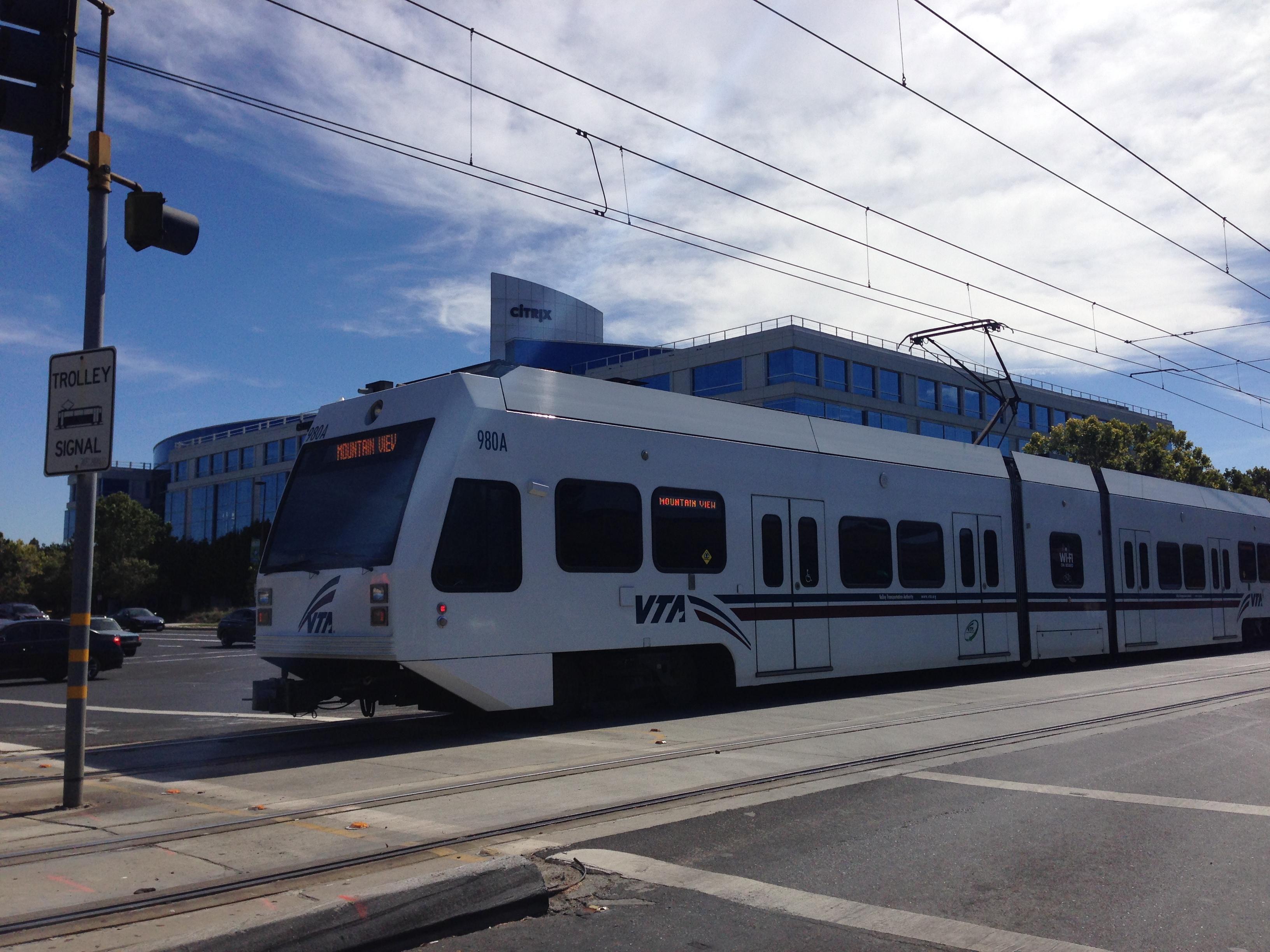 File:VTA Light Rail In San Jose Design Ideas