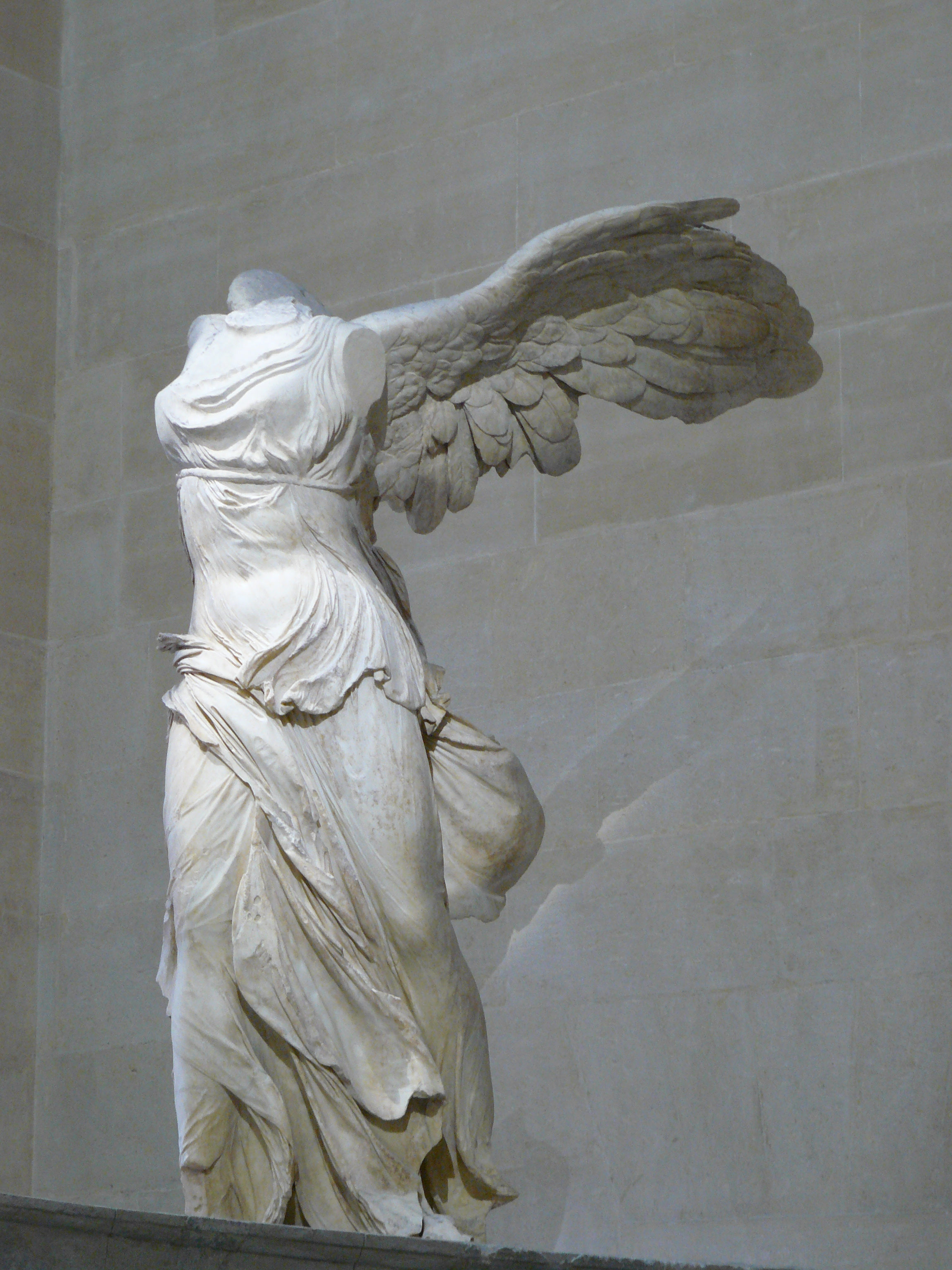 Winged victory of samothrace wikiwand for Minimal art nedir