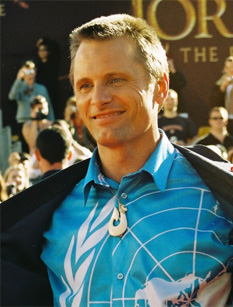 Viggo Mortensen at the world premiere of Lord ...