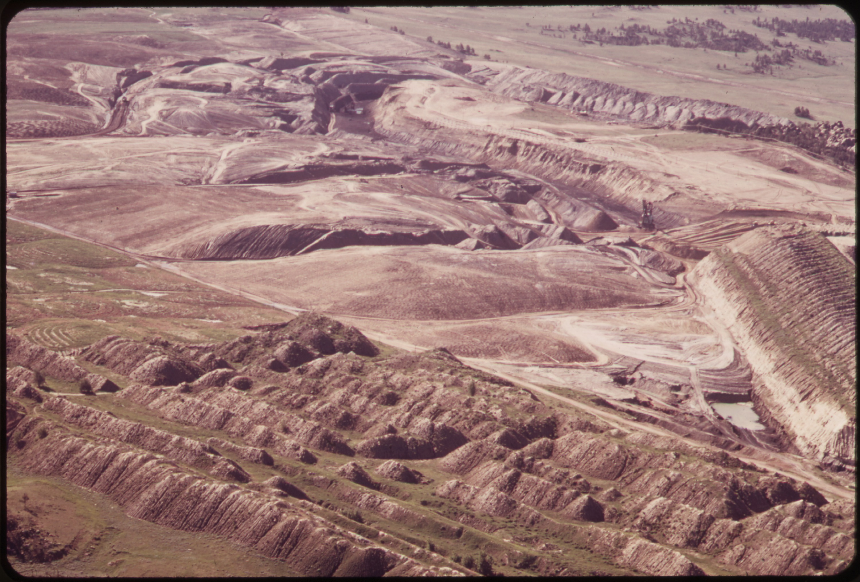 History of strip mining