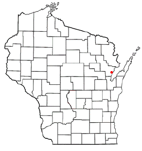 Pensaukee, Wisconsin Town in Wisconsin, United States