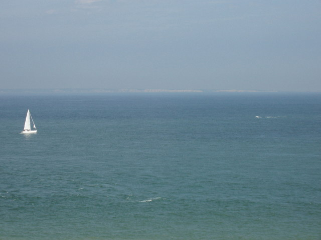 White cliffs of Dover from Cap Gris Nez, France - geograph.org.uk - 1371873