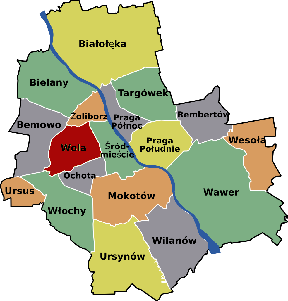 warsaw western centre travel guide at wikivoyage