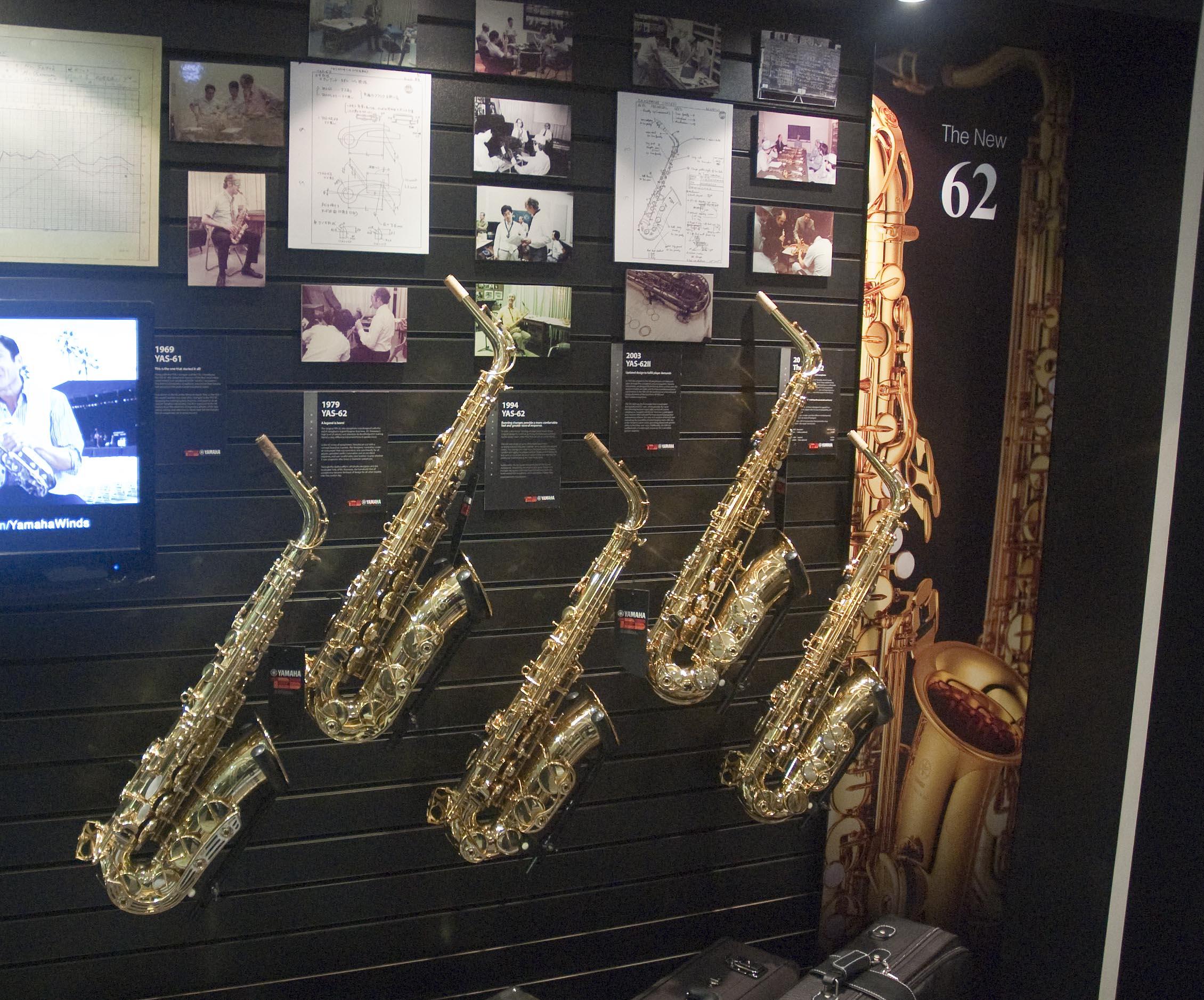 Yamaha Alto Saxophone History