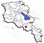 Yeghegnadzor locator map.png