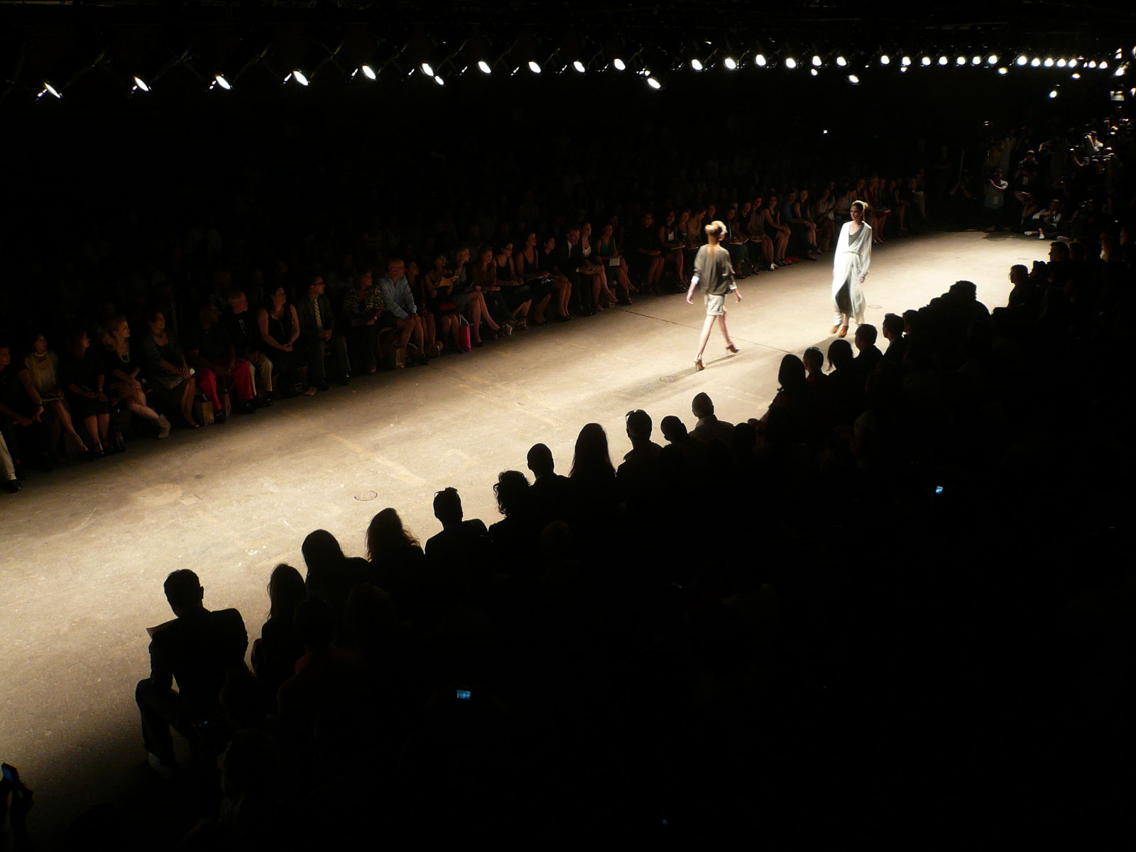 Yigal Azrouel Fashion Show at Eyebeam Center f...