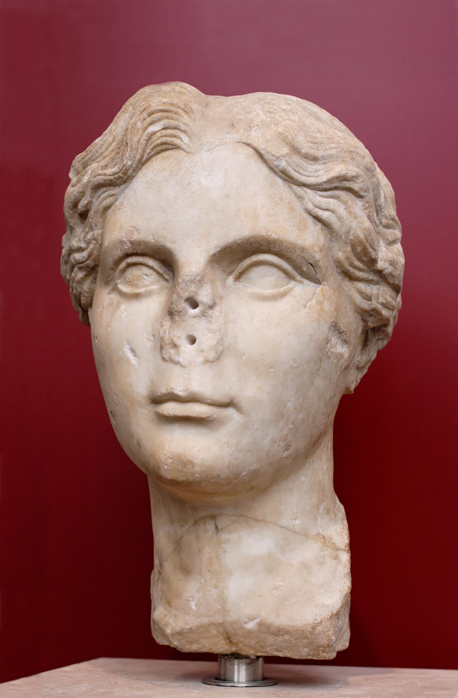 File Young Woman Palazzo Massimo Rome Inv147065 Jpg Wikimedia Commons