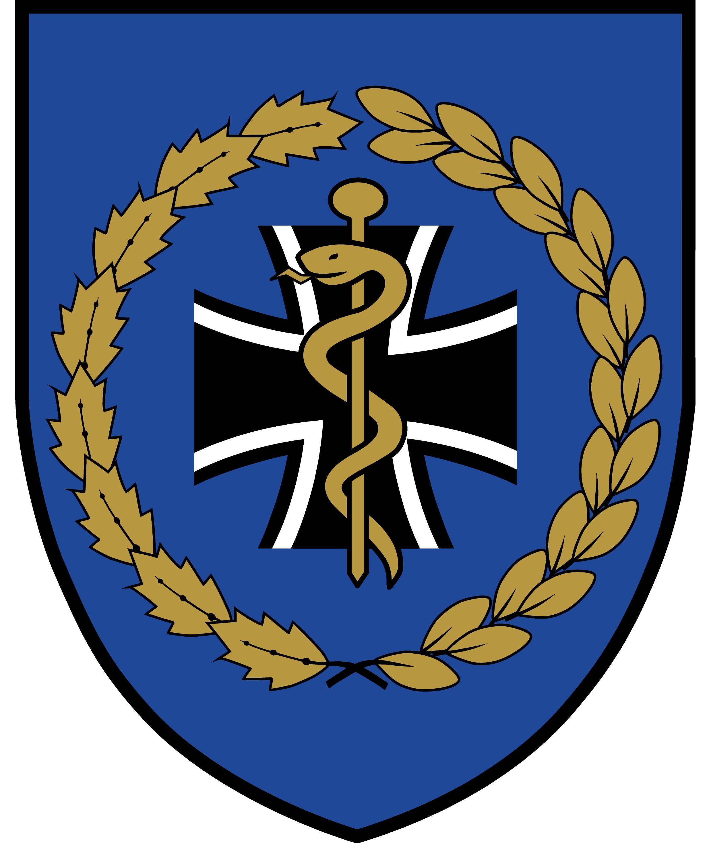 Sanitätsdienst bundeswehr wappen  Datei:Zentrales Institut des Sanitätsdienstes der Bundeswehr KOBLENZ ...