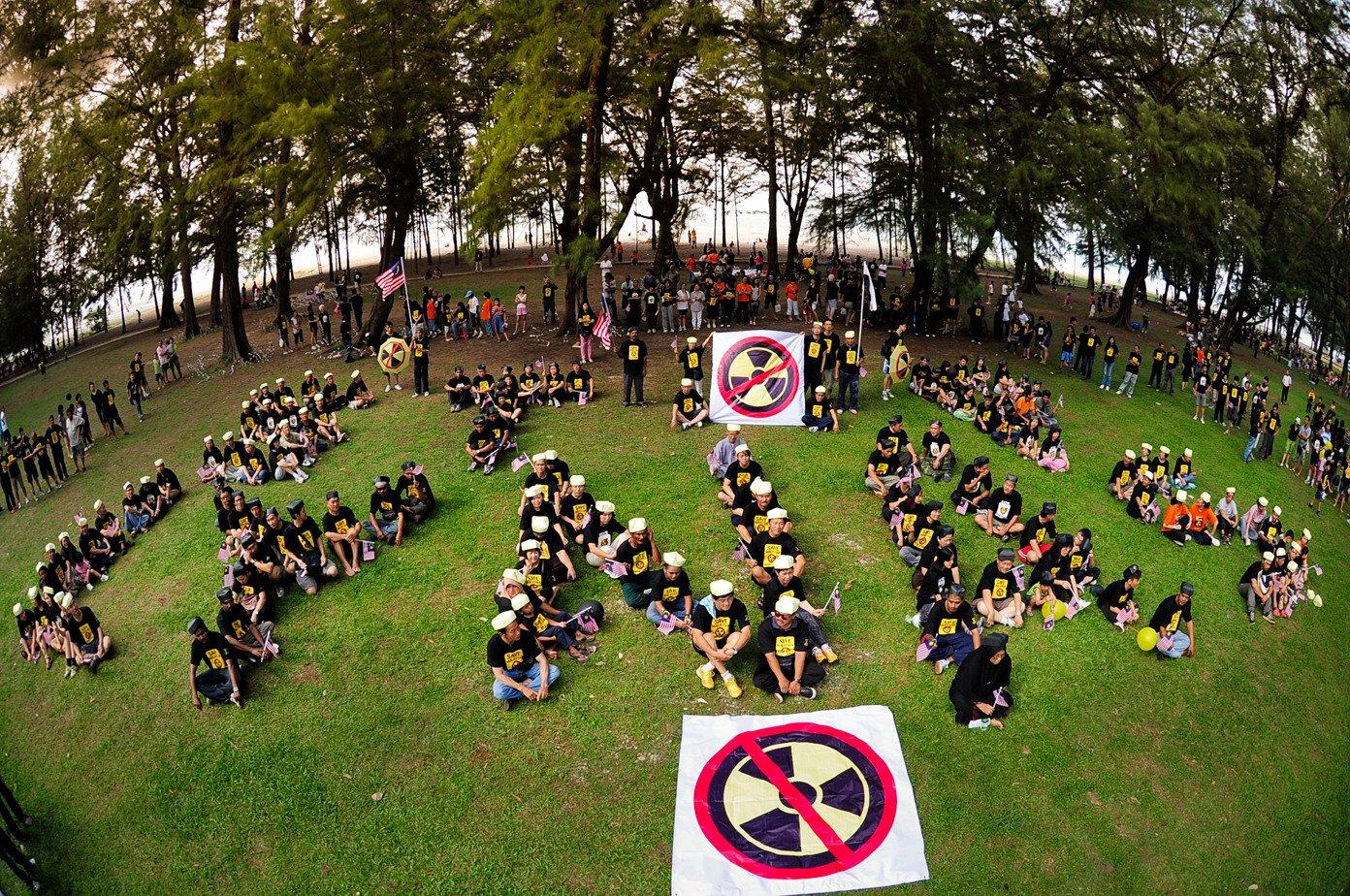 """STOP LYNAS"" Human Assembly - panoramio"