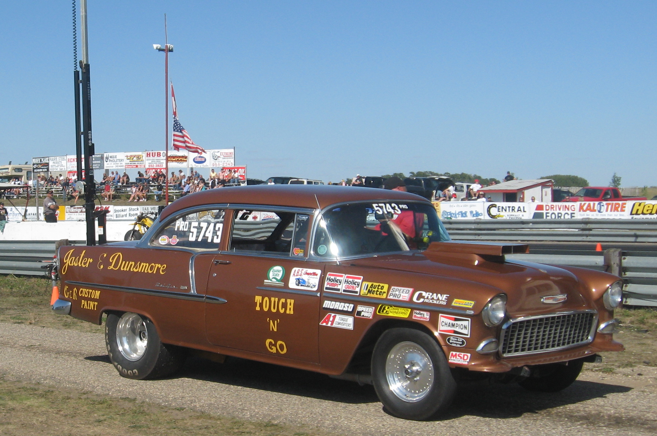 Chevy Drag Car Pic S