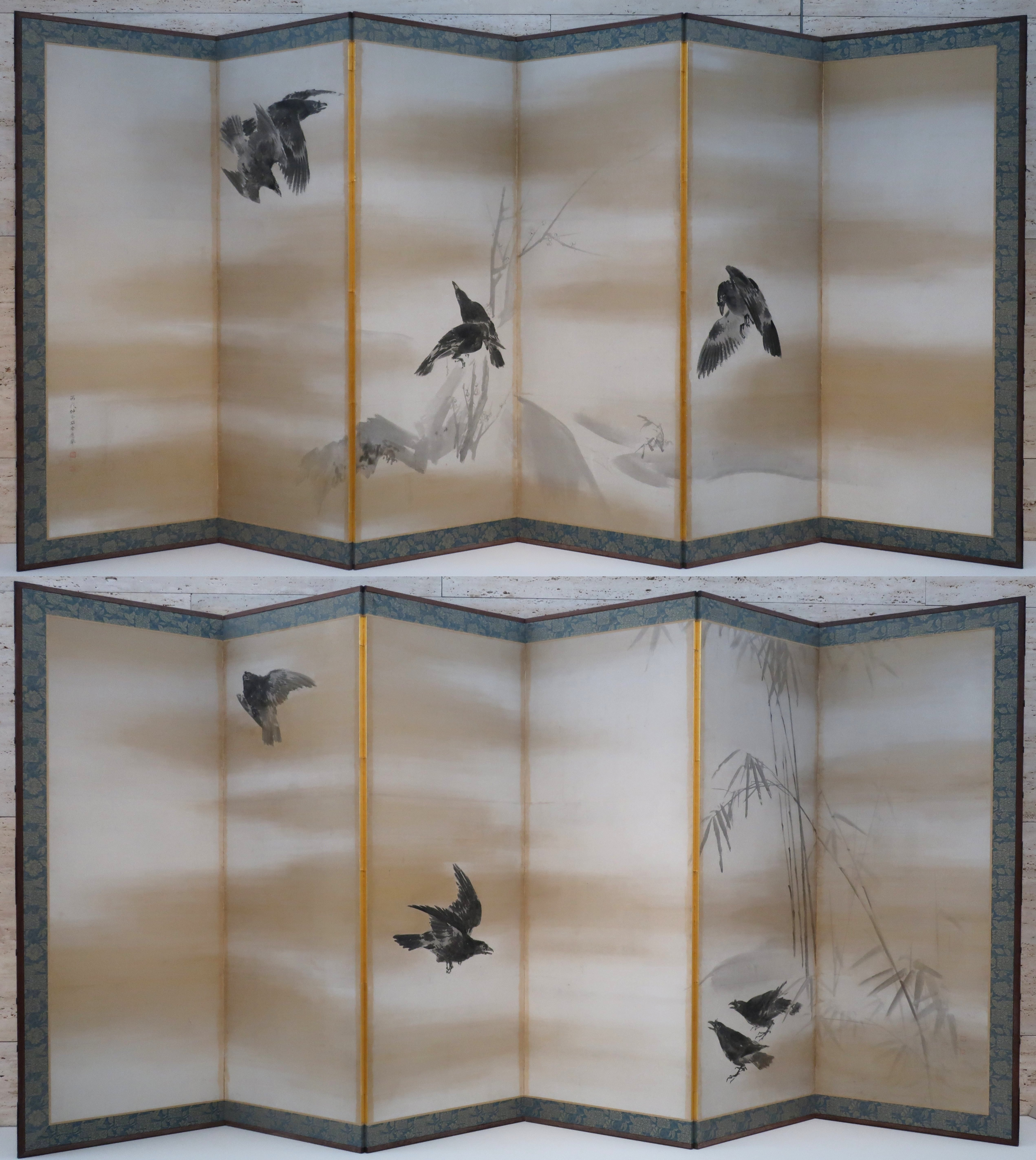 File:'Crows' by Maruyama Okyo.jpg