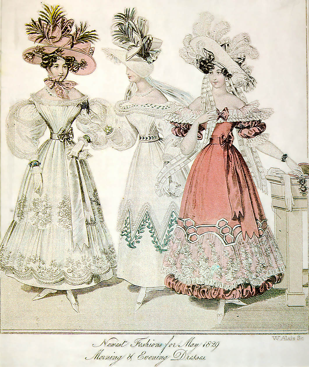 File:1829-Morning-Evening-Dresses-World-of-Fashion-