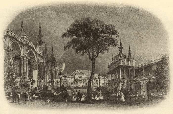 Antique Print 1887 LONDON Entertainment for Poor Children at Temple Gardens