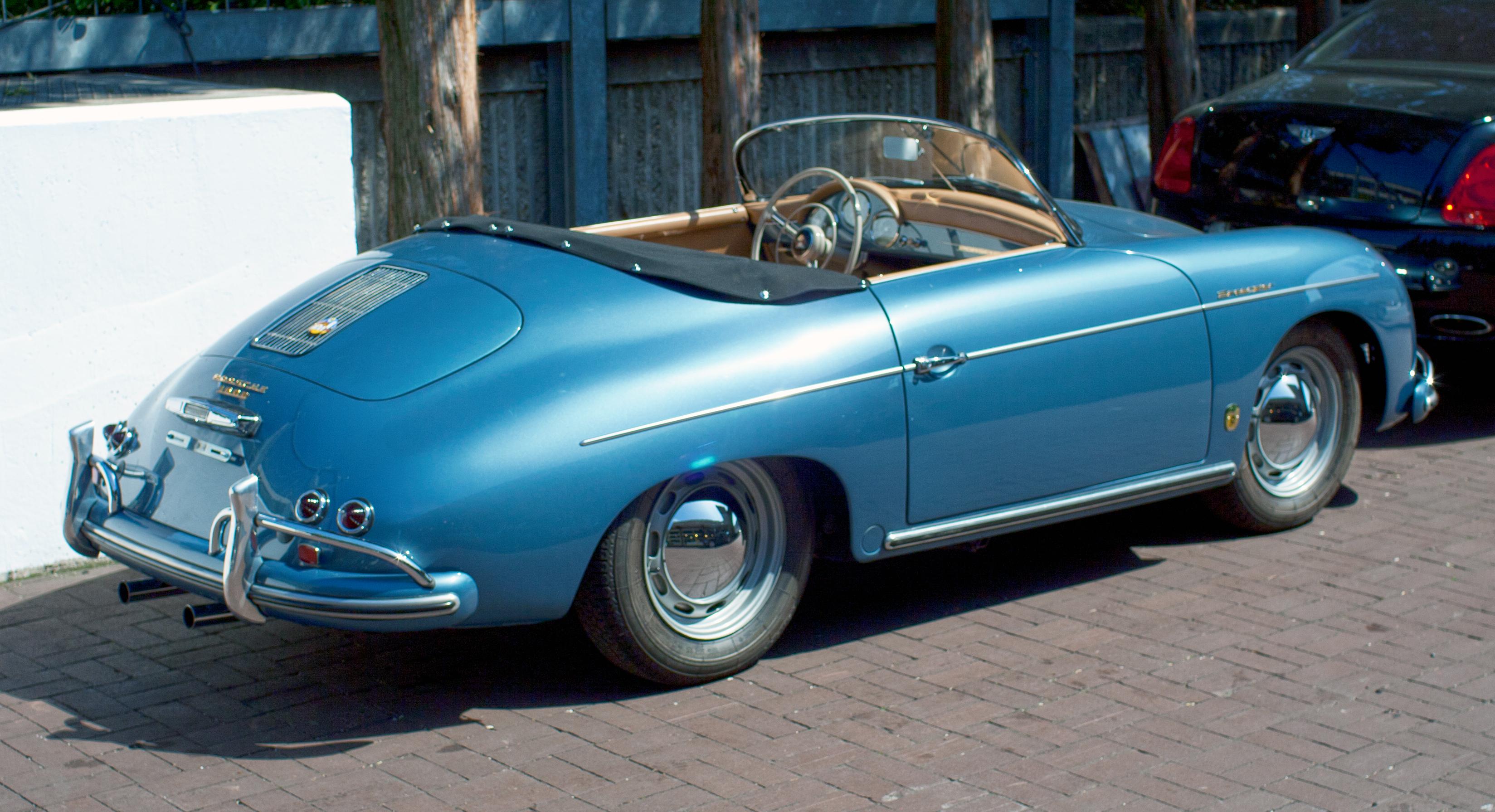 File 1957 Porsche 356 Speedster A Rear Jpg Wikimedia