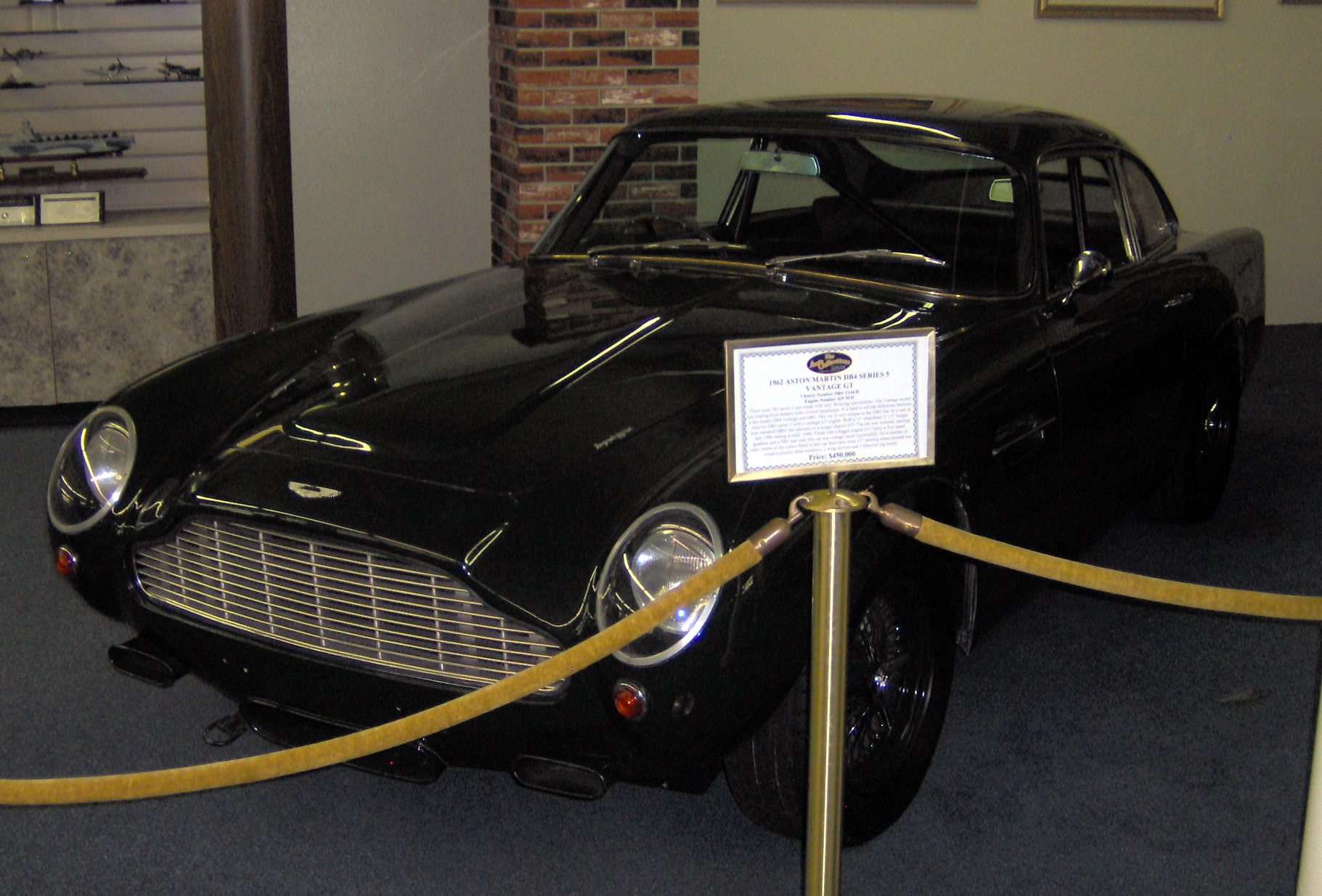 File:1962 Aston Martin DB4 Series 5 Vantage GT.JPG - Wikipedia, the ...