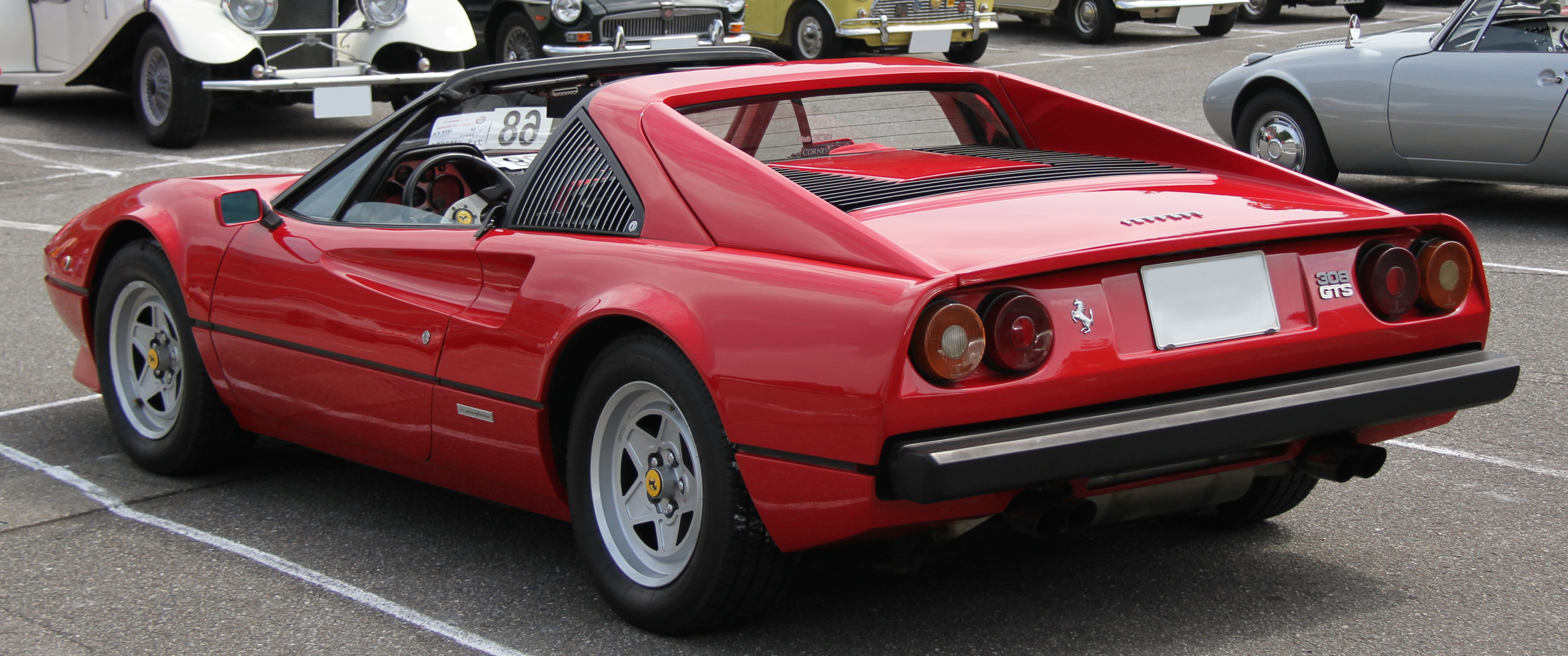 File 1979 Ferrari 308gts Rear Jpg Wikimedia Commons