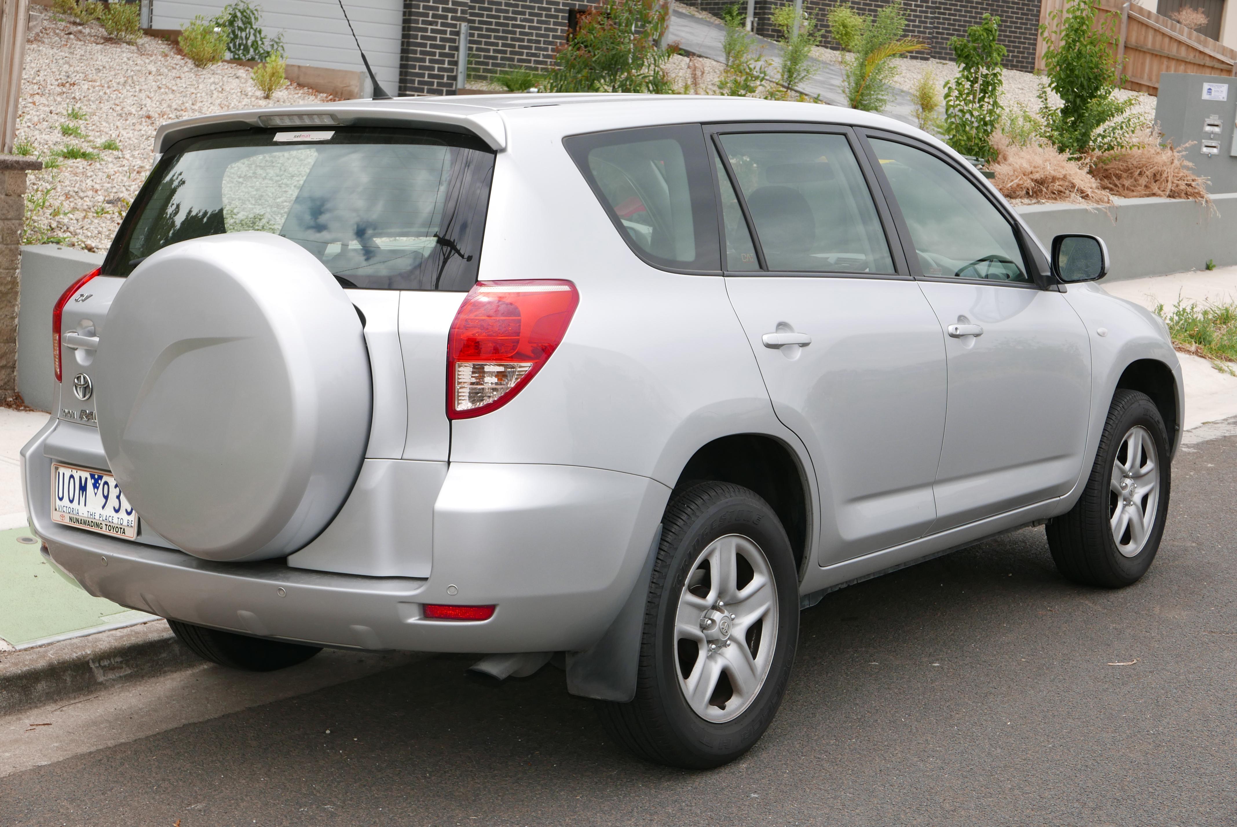 File:2006 Toyota RAV4 (ACA33R) CV Wagon (2016 01 04