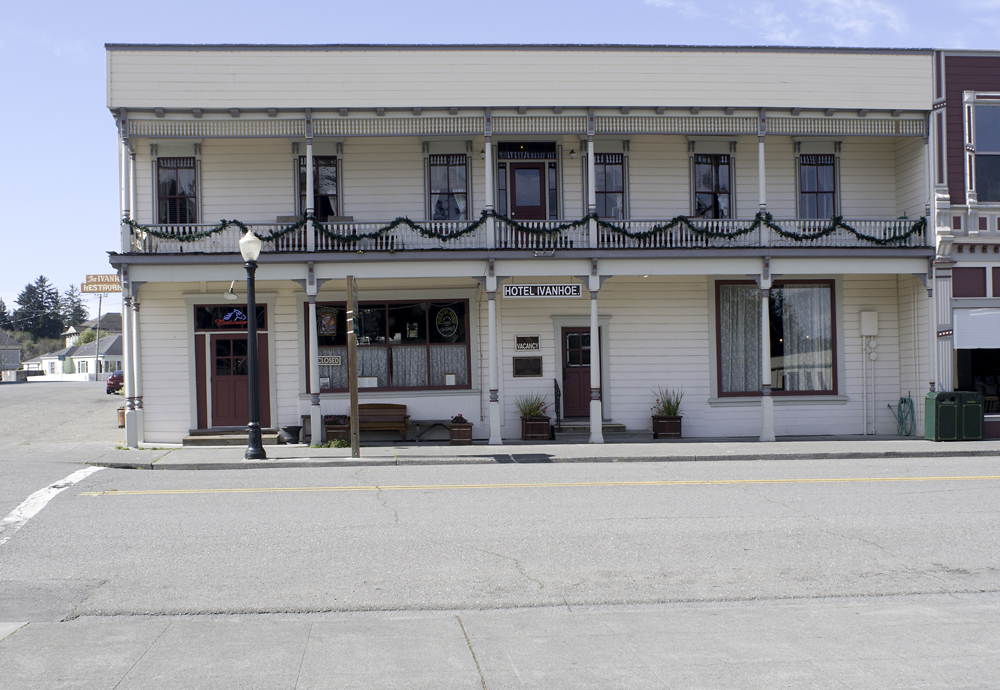 Ivanhoe Hotel Restaurant Saloon Ferndale Ca
