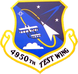 4950th Test Wing emblem - 4950th Test Wing