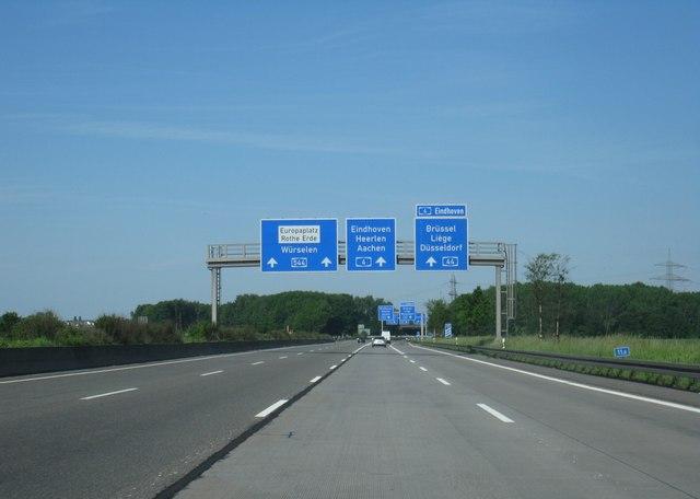 File:A4 - A44 - Kreuz 4, Aachen - geo-en.hlipp