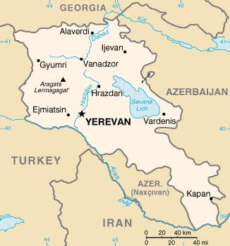 kaspihavet kart Armensk geografi – Wikipedia kaspihavet kart