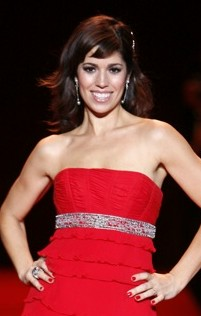Ana op de Heart Truth Fashion Show 2008