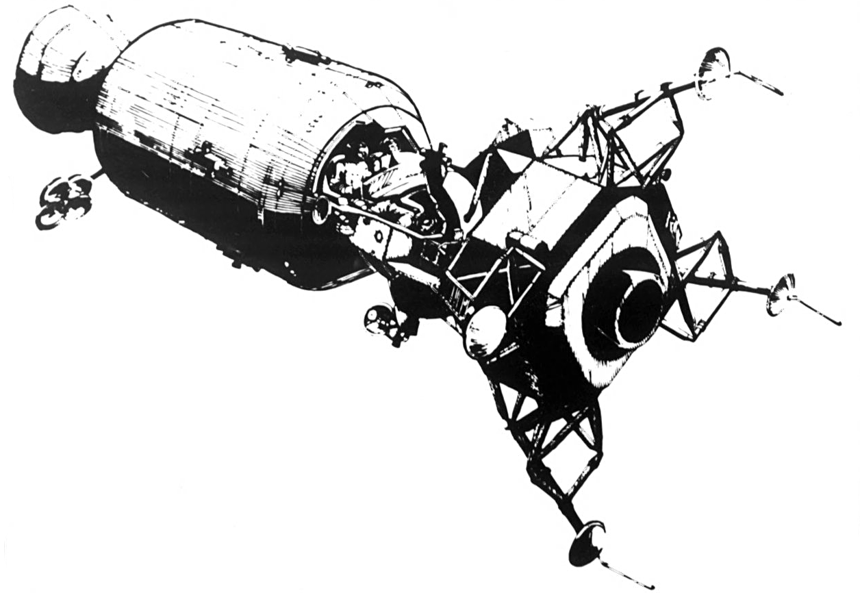 apollo spacecraft clipart - HD 1256×866