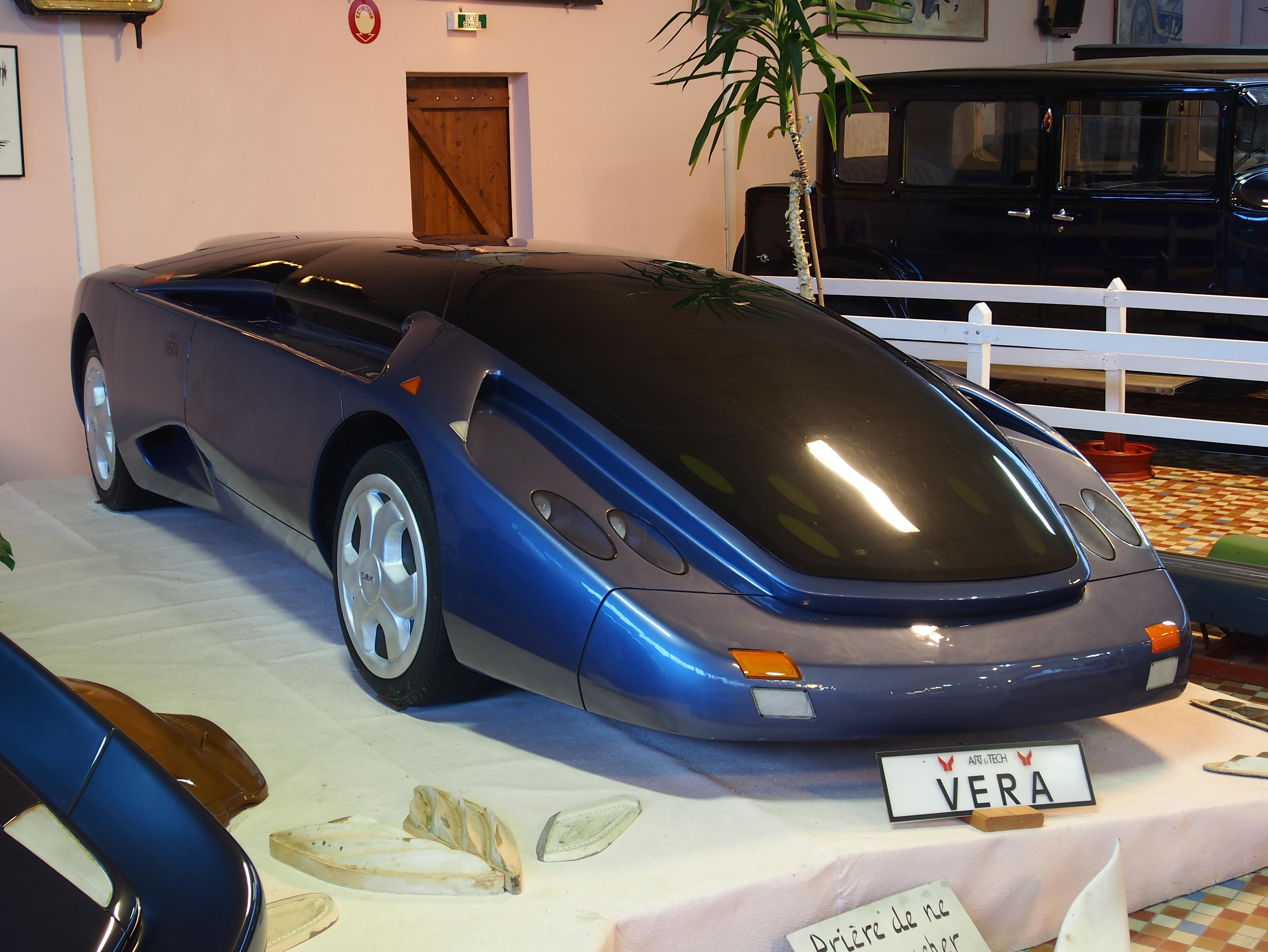 file art tech vera concept car at the mus e automobile de vend e pic 06 jpg wikimedia commons. Black Bedroom Furniture Sets. Home Design Ideas