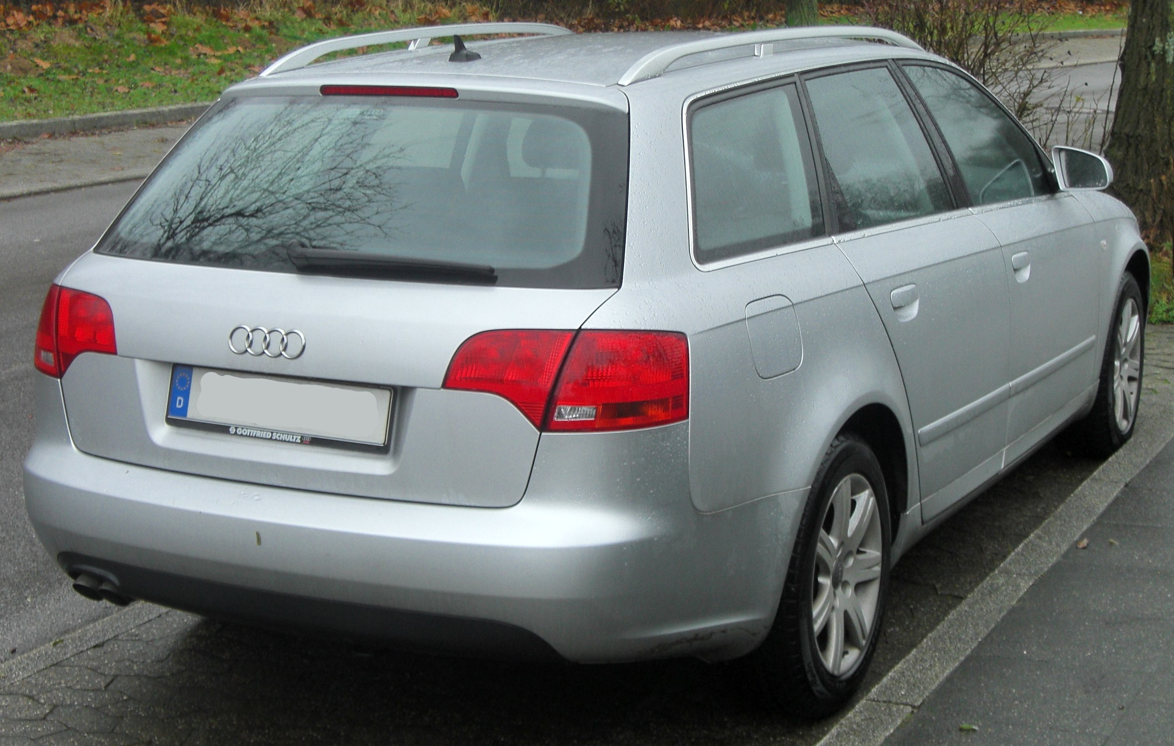 Fileaudi A4 B7 Avant Facelift 20042008 20 Tdi Rear Mjjpg