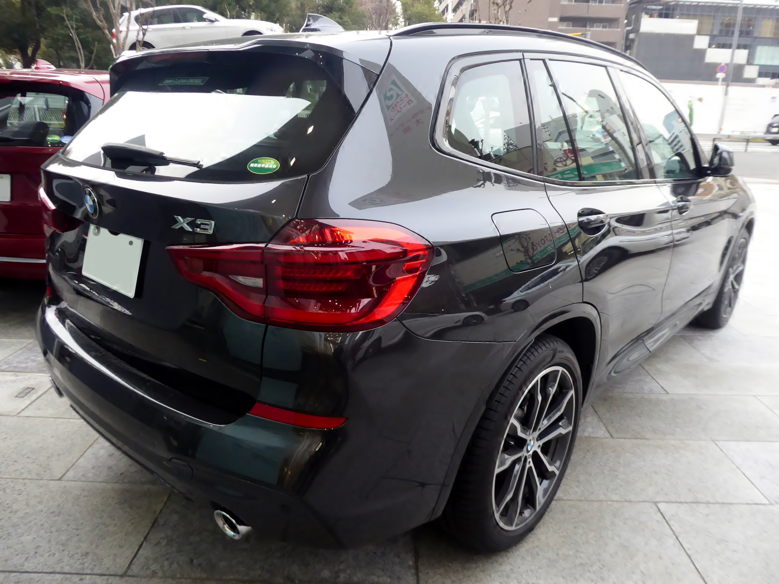 File Bmw X3 Xdrive20d M Sport G01 Rear Jpg Wikimedia Commons