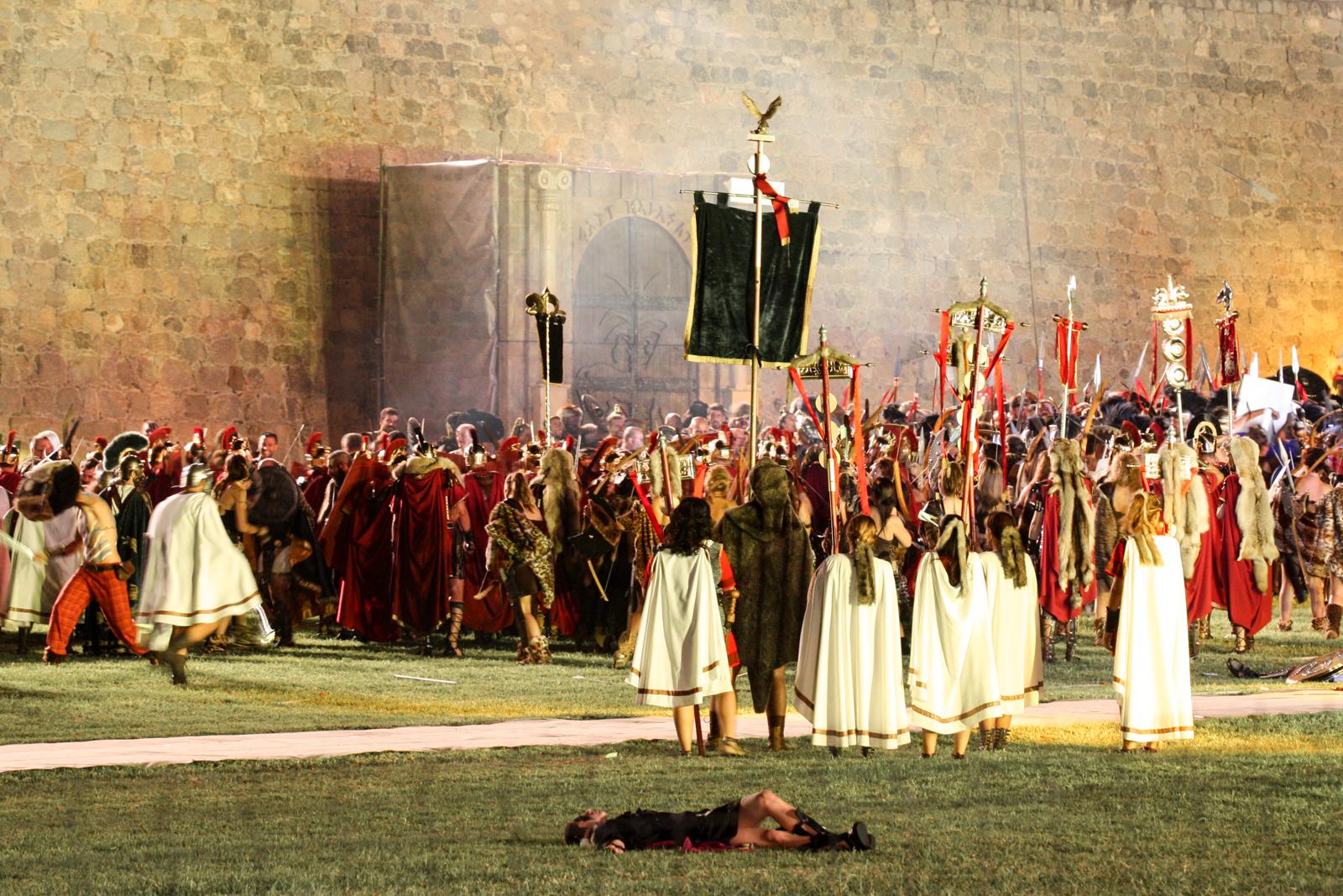 Fête des carthaginois et des romains à Carthagène