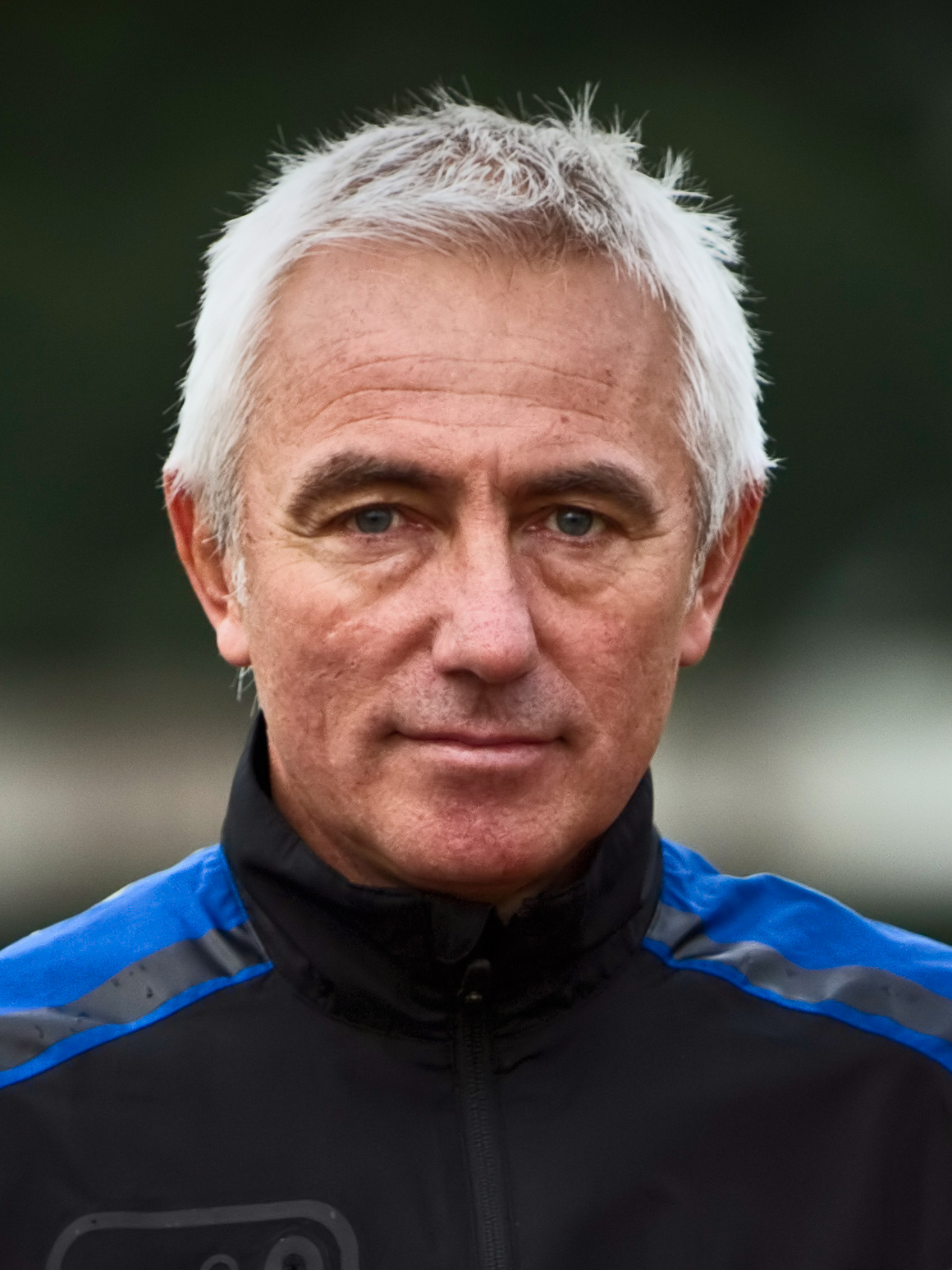 The 66-year old son of father (?) and mother(?) Bert van Marwijk in 2018 photo. Bert van Marwijk earned a  million dollar salary - leaving the net worth at 15 million in 2018