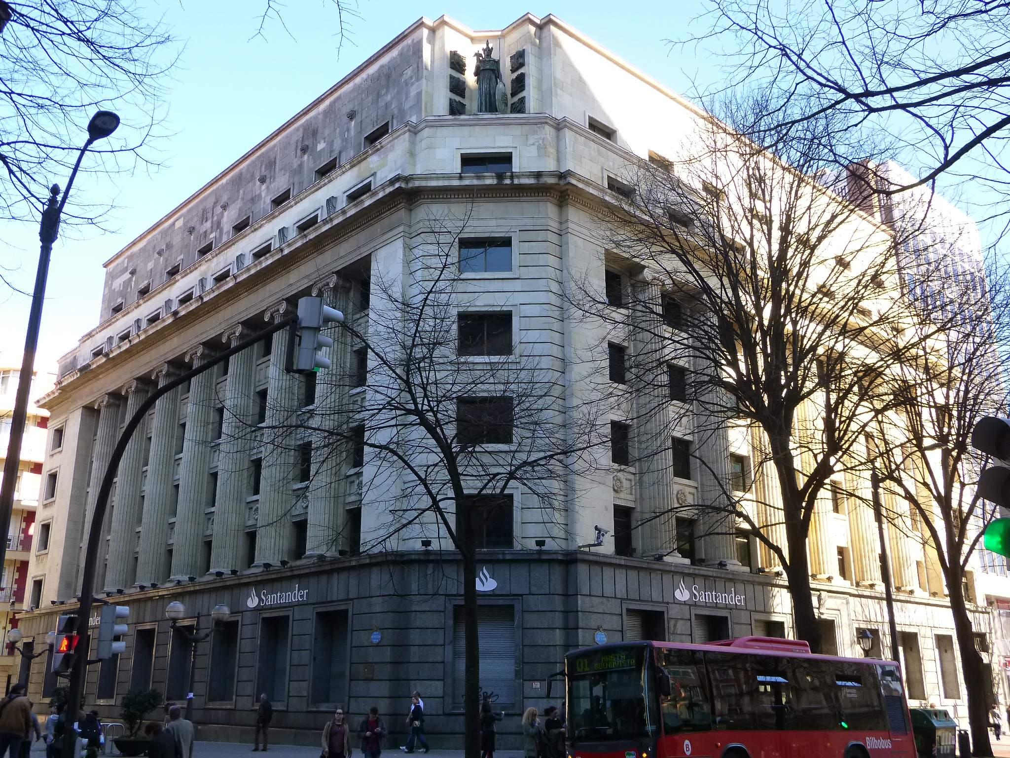 Archivo bilbao banco de santander wikipedia la for Oficinas santander bilbao